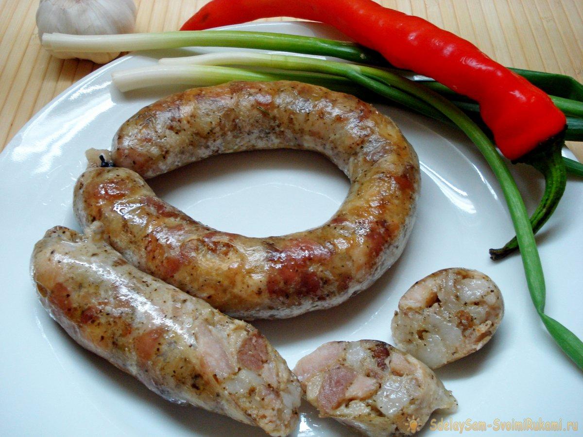 как приготовить колбасу дома рецепт с фото нашли сайт которого