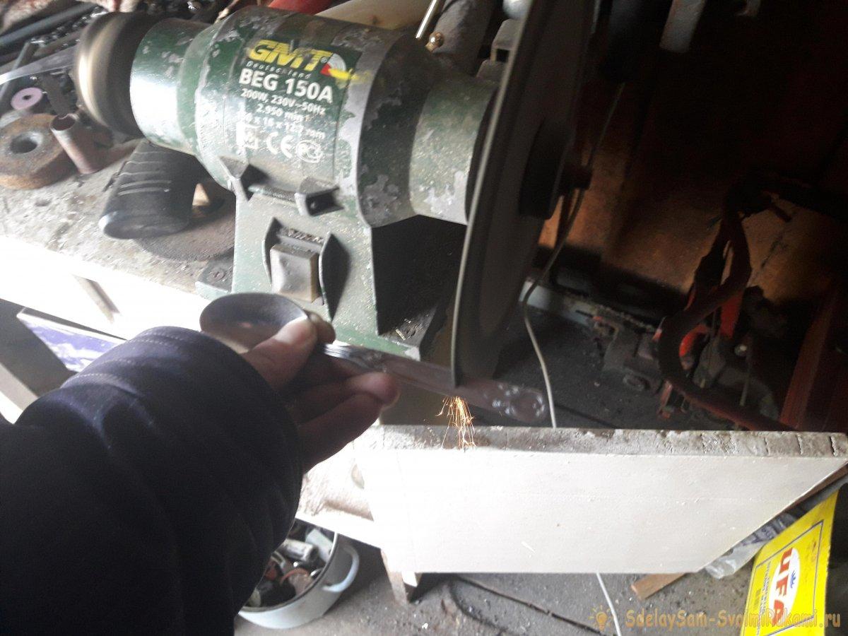 Сделаем в поход: складная вилка-ложка своими руками