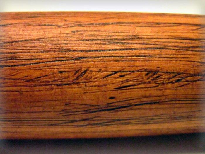 Декорирование ПВХ трубы под натуральную древесину