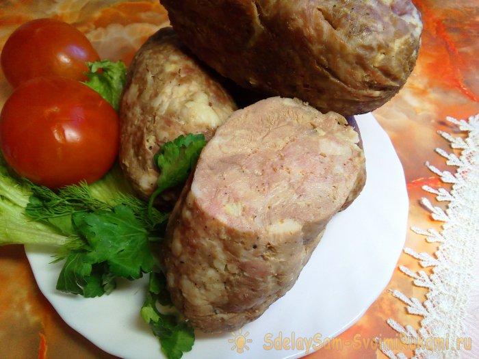 Домашняя колбаса - 128 рецептов приготовления - 1000.menu
