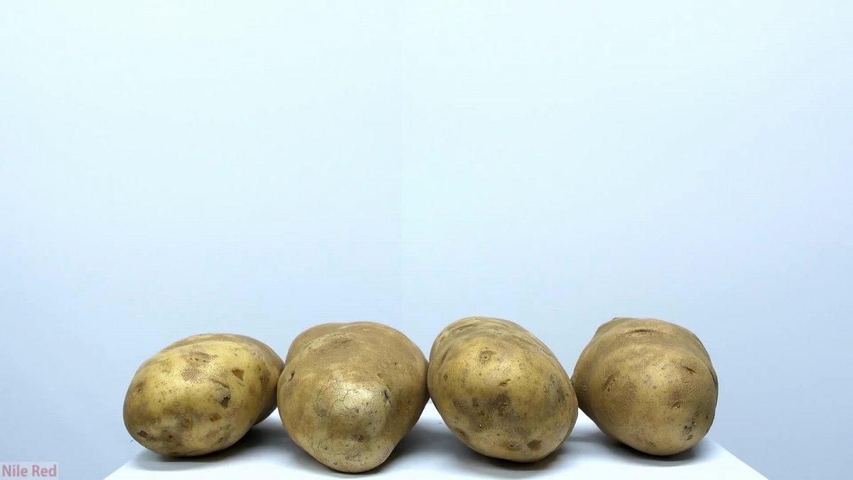 Как уменьшить крахмал в картофеле