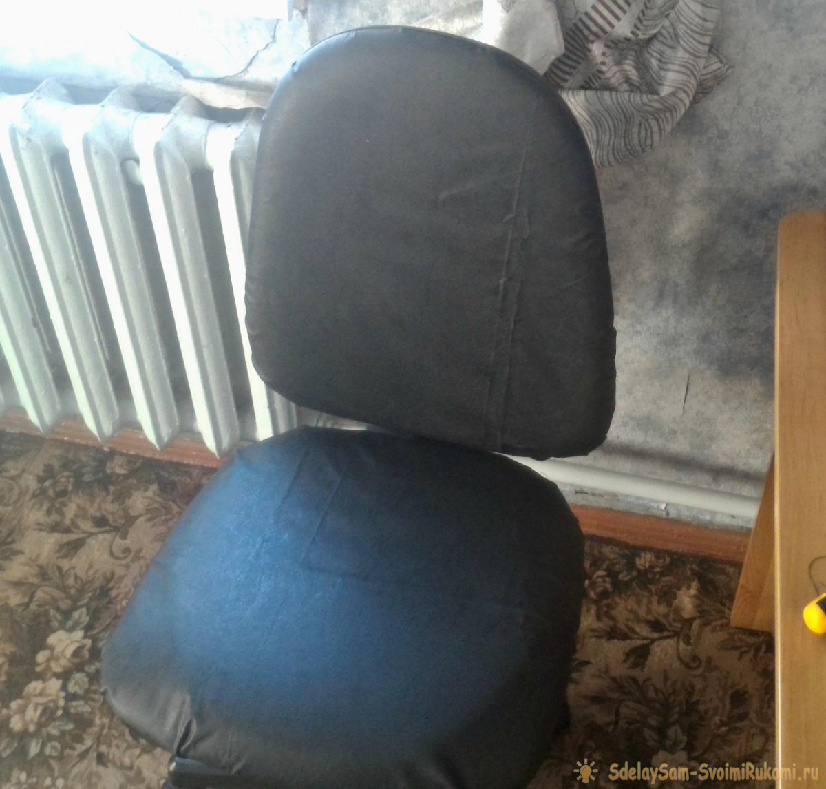 Как освежить старый компьютерный стул за 1 час