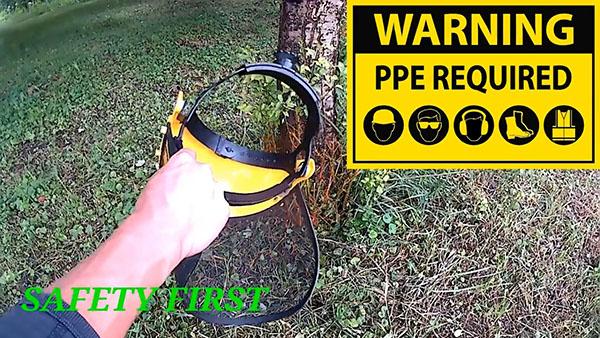 1552798199 15 - Как поставить на бензокосу цепь от бензопилы