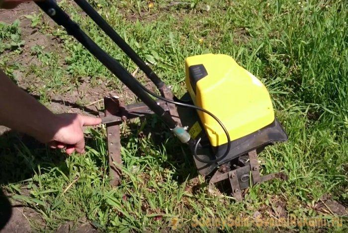 Культиватор электрический доработка до рабочего состояния