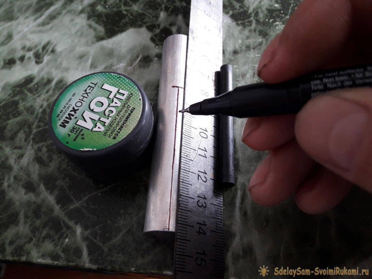 Как сделать огниво из двух металлов
