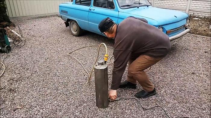 Простой и мощный пеногенератор из огнетушителя