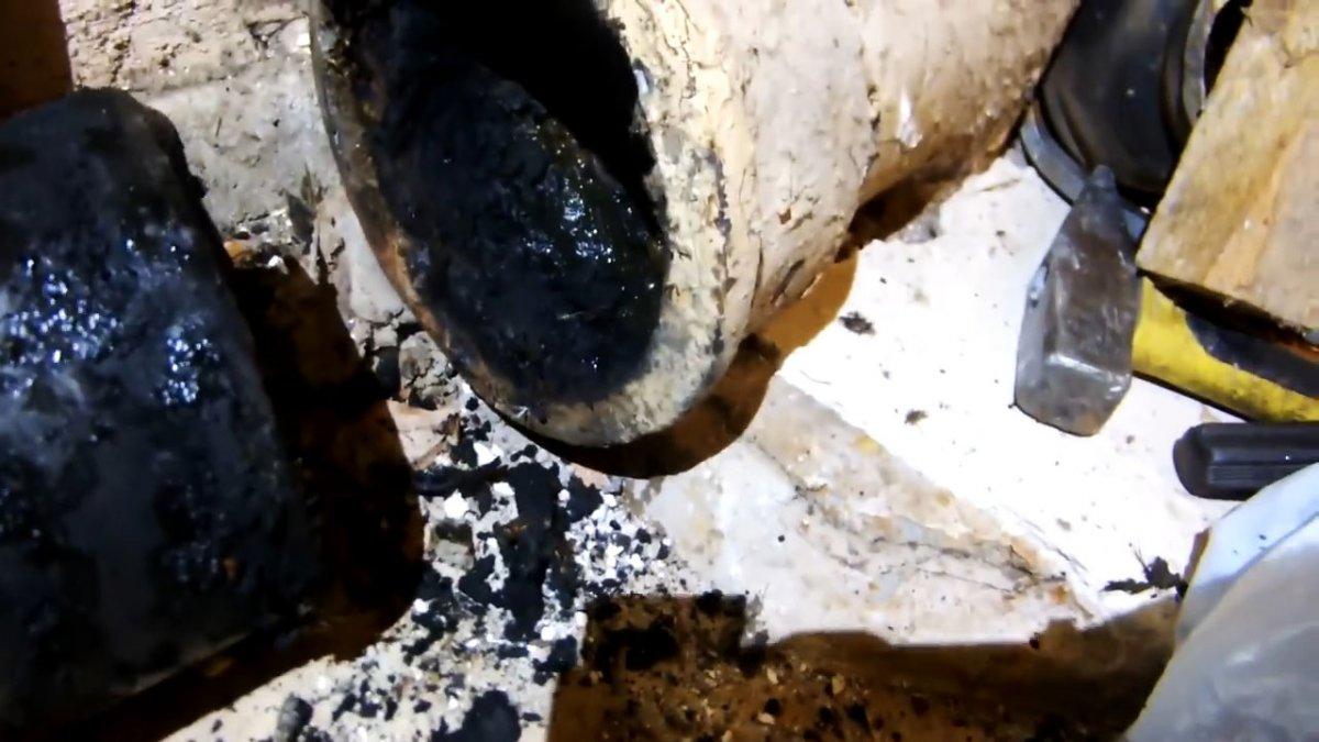 Замена чугунного водоотвода на пластиковый