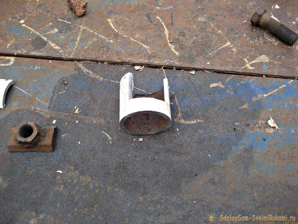 Как изготовить съёмник для снятия рулевых наконечников и шаровых опор