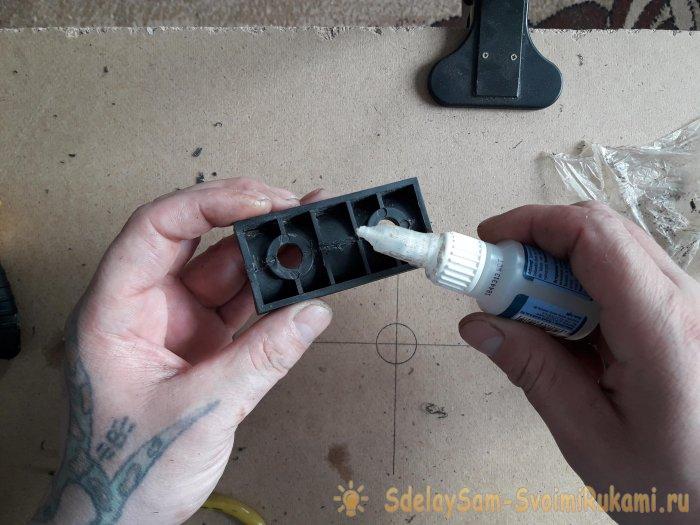 Как отремонтировать сломавшуюся пластмассовую деталь