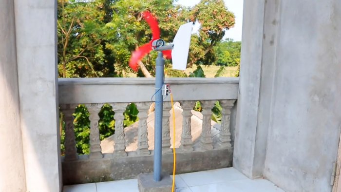 ветрогенератор на балкон