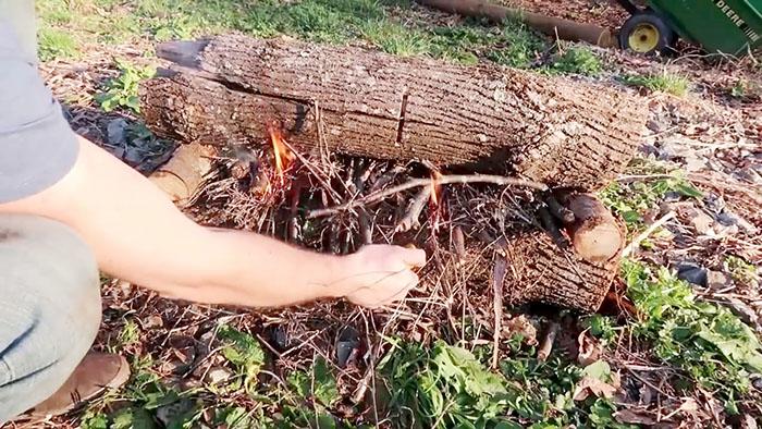 7 способов разведения костра на природе