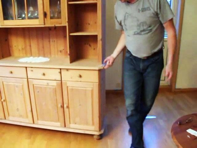 Как легко в одиночку передвинуть тяжелую мебель