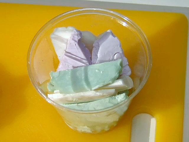 Что сделать из остатков мыла?