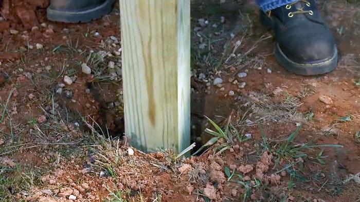 Как быстро и недорого залить фундамент на бетонных опорах