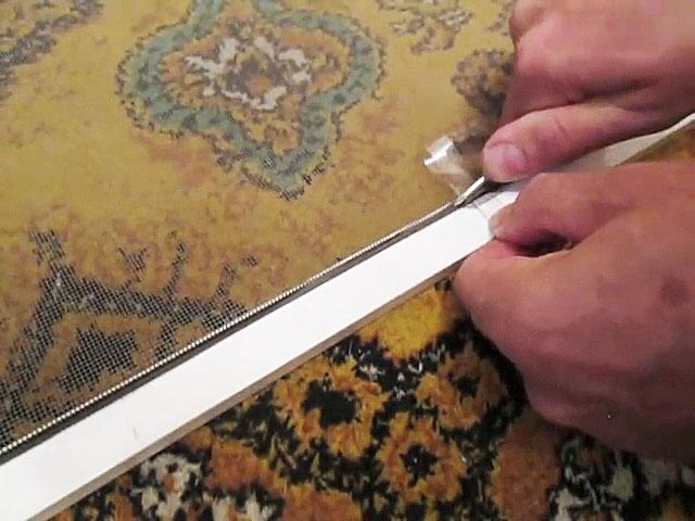 Новая ручка для москитной сетки буквально за 5 минут из пластиковой бутылки