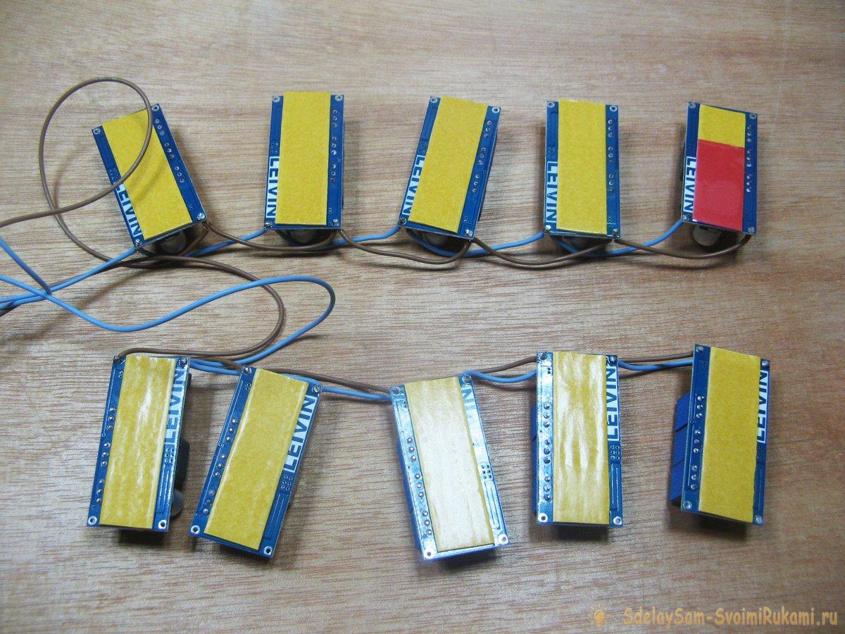 Как сделать зарядное устройство на 10 аккумуляторов