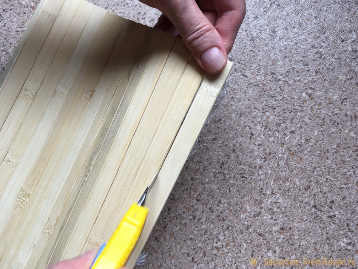 Как замаскировать недостатки настенного покрытия с помощью бамбуковых обоев
