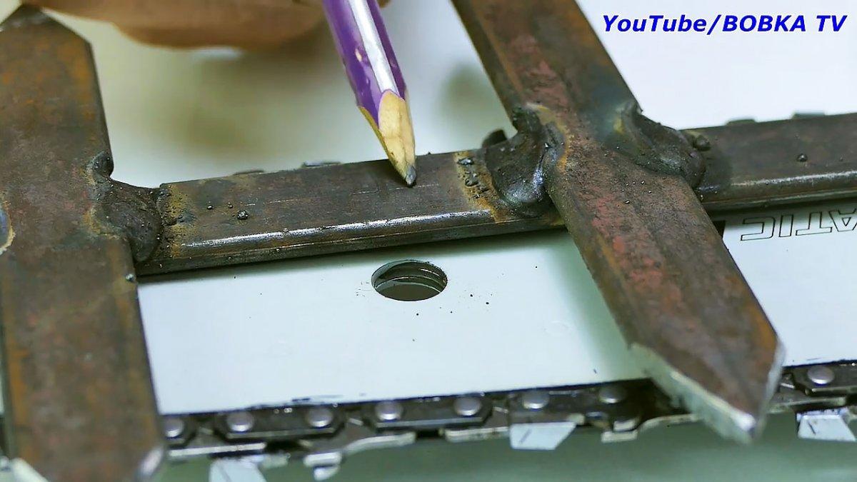 Как превратить цепную пилу в триммер-кусторез, самодельная съемная оснастка