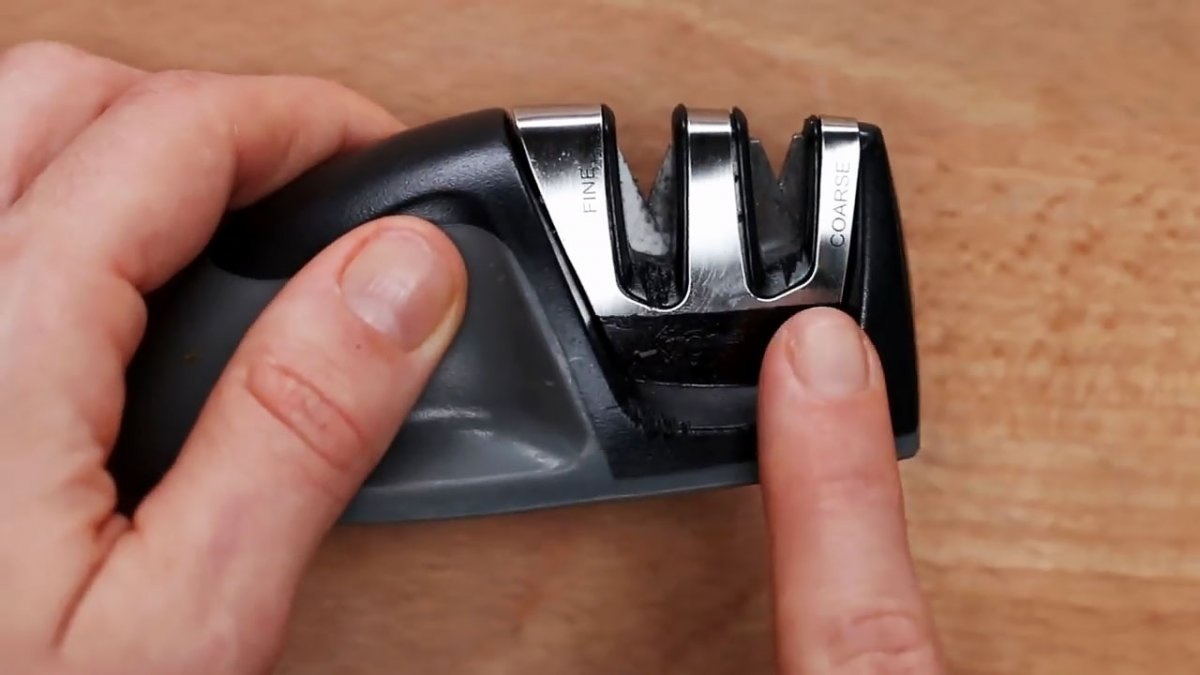 3 самых доступных способа наточить кухонный нож