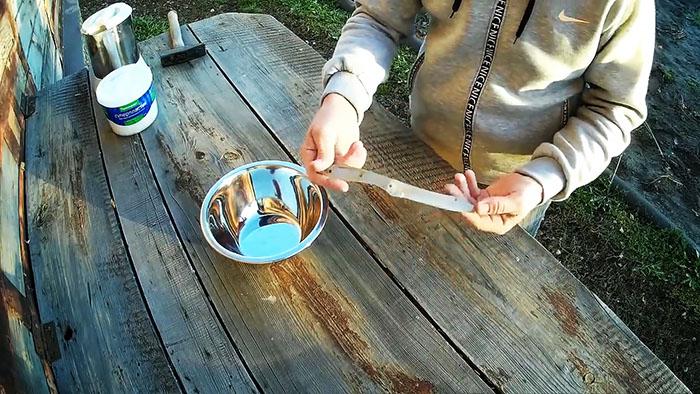 Как сделать простую ручку для сломанного ножа