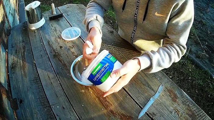 Как сделать прочную и анатомическую рукоять для ножа за 10 минут