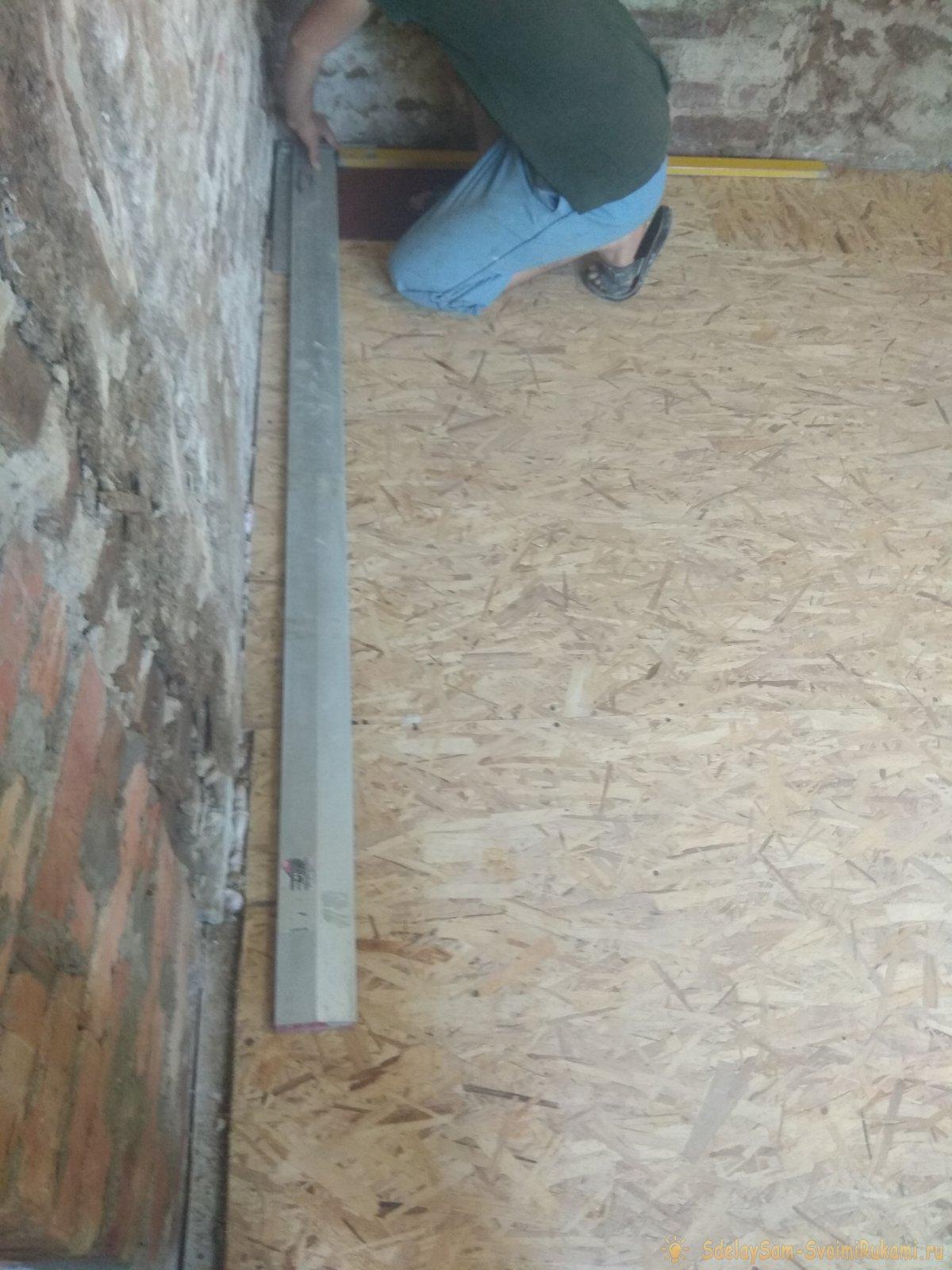 Выравнивание и отделка стен гипсокартоном
