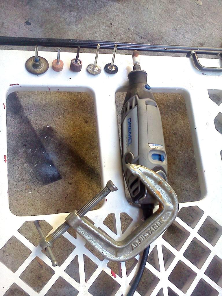 Как отремонтировать кухонный нож с отломанным носиком (острием)