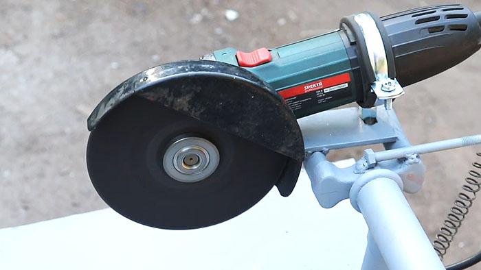 1564545913 22 - Как сделать стойку для болгарки из старой рамы велосипеда
