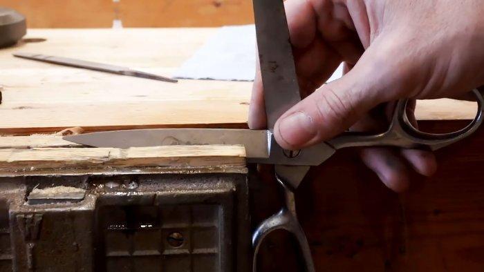 Как точат и следят за ножницами профессионалы