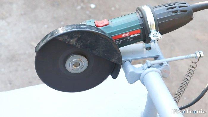 1564545270 22 - Как сделать стойку для болгарки из старой рамы велосипеда