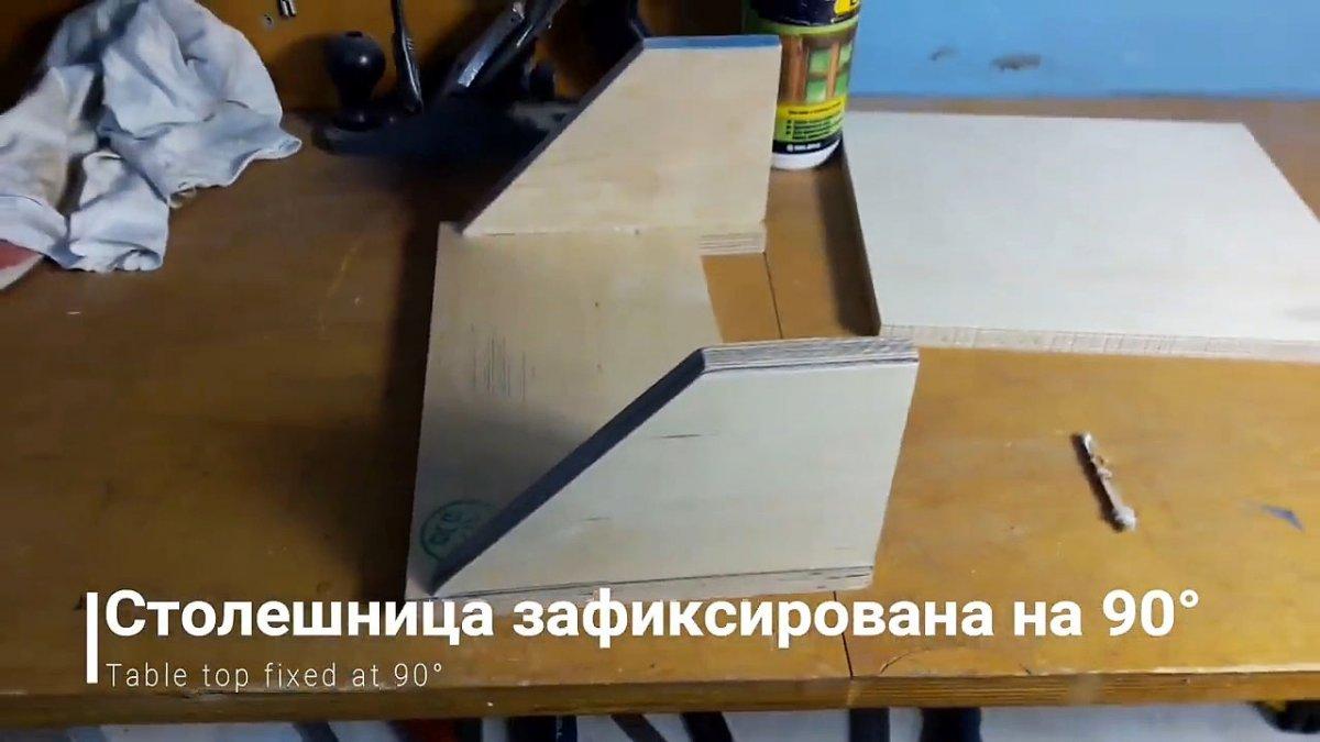Очень просто шлифовальный станок из доступных материалов