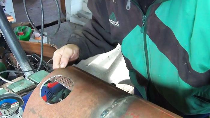 1565346611 8 - Как сделать ровное круглое отверстие с помощью болгарки