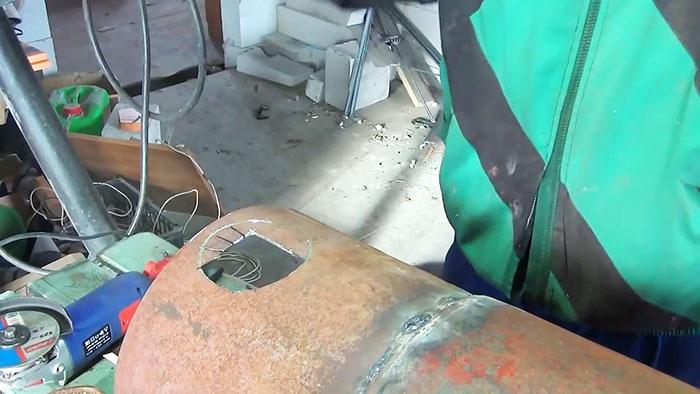 1565346616 5 - Как сделать ровное круглое отверстие с помощью болгарки