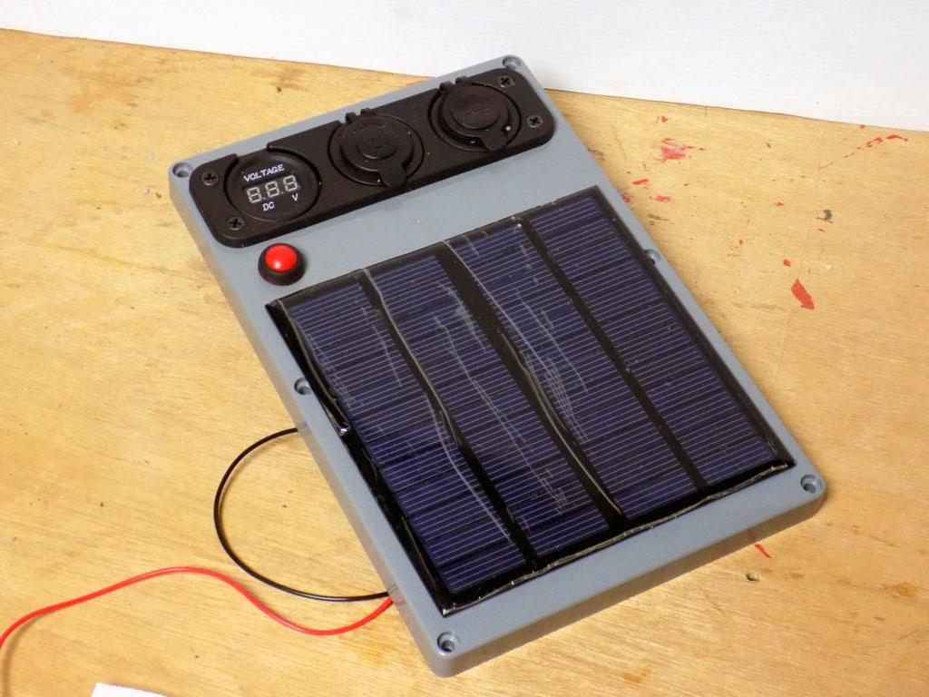 Портативная солнечная электростанция для похода, туризма