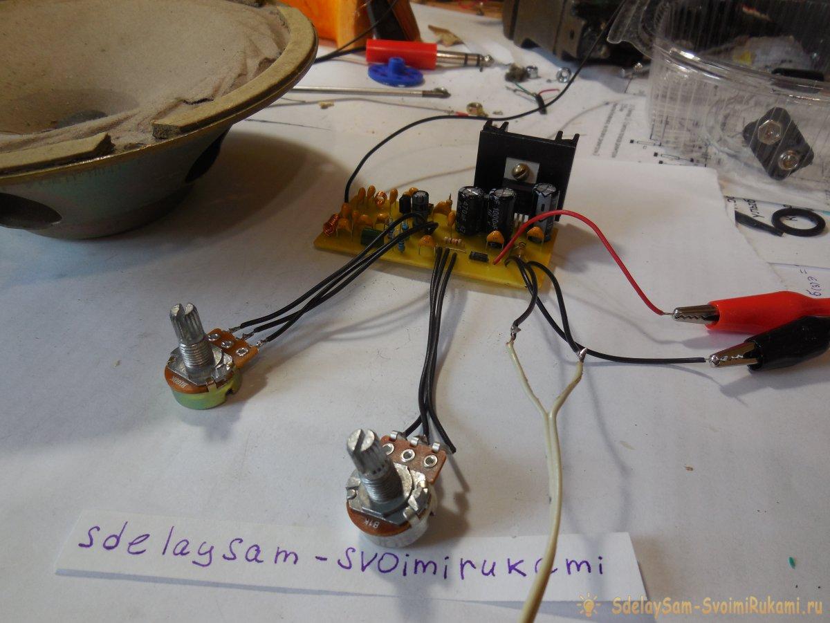 Радиоприёмник на TDA7021