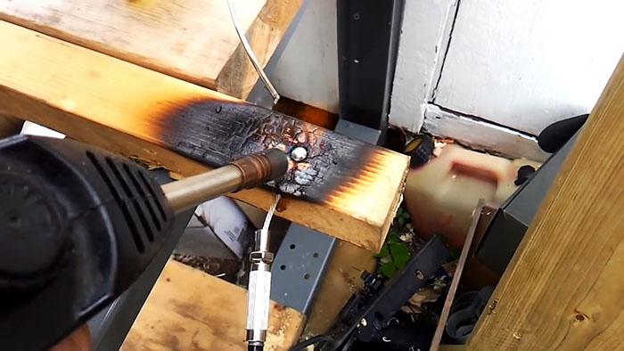 Как быстро отлить бобышку тросика без литьевой формы