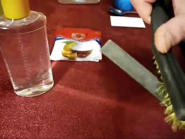 Как легко заточить напильник с помощью лимонной кислоты