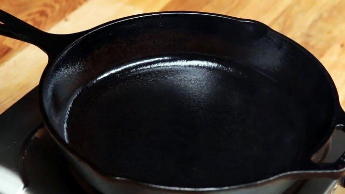 1564745352 16 - Очищаем чугунную сковородку от нагара