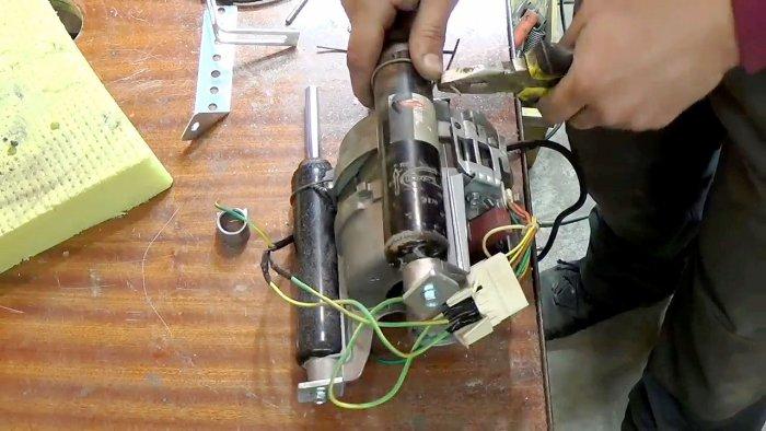 1565239436 9 - Фрезерный станок из двигателя стиральной машинки