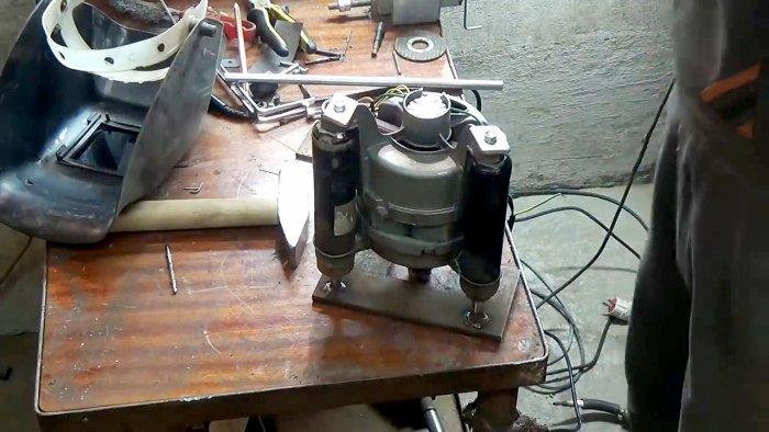1565239456 11 - Фрезерный станок из двигателя стиральной машинки