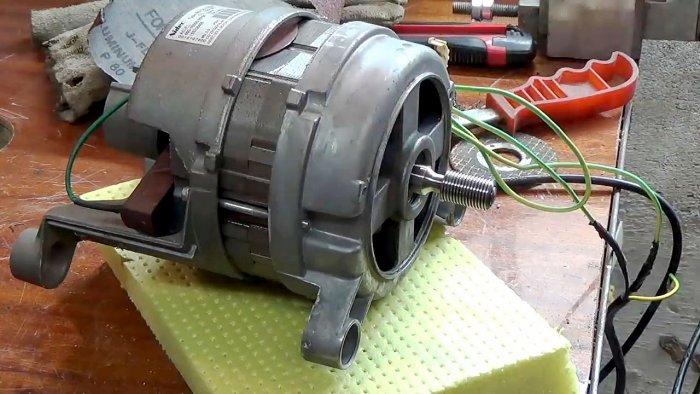 1565239461 1 - Фрезерный станок из двигателя стиральной машинки