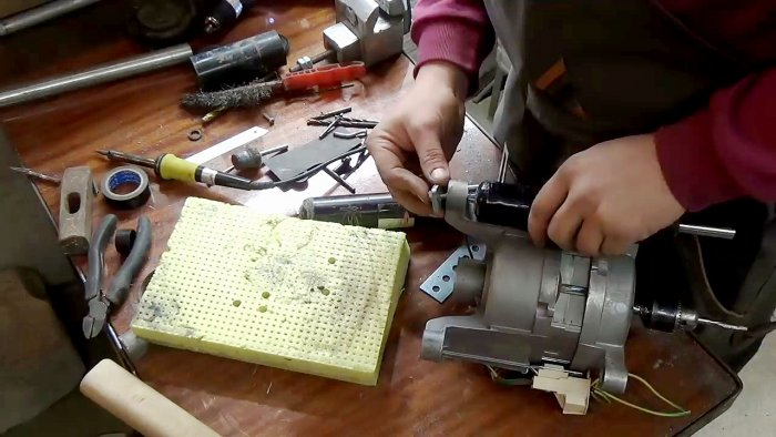 1565239467 8 - Фрезерный станок из двигателя стиральной машинки