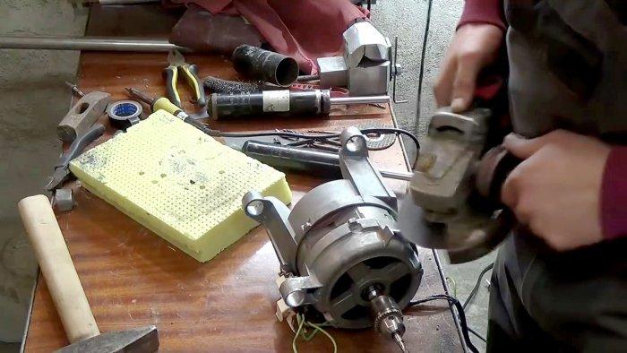 1565239472 6 - Фрезерный станок из двигателя стиральной машинки
