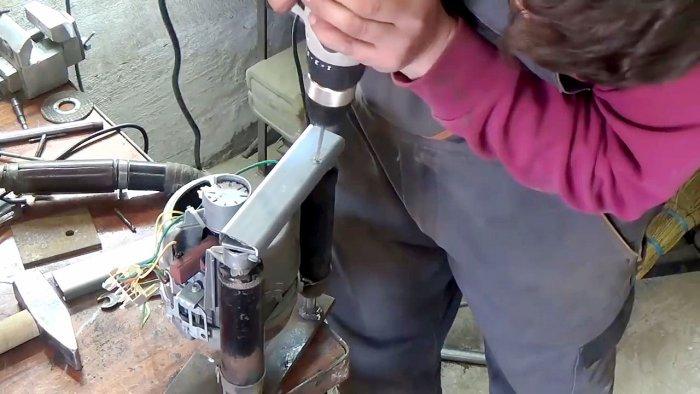 1565239495 12 - Фрезерный станок из двигателя стиральной машинки