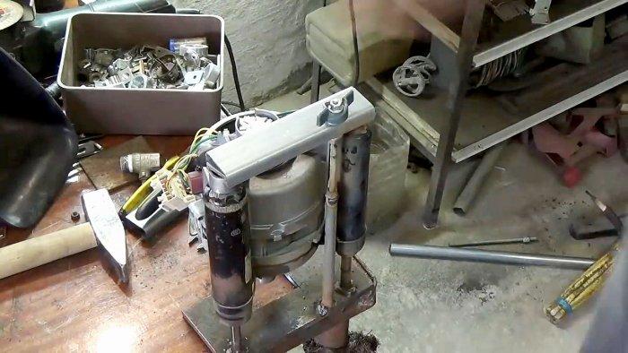 1565239510 13 - Фрезерный станок из двигателя стиральной машинки