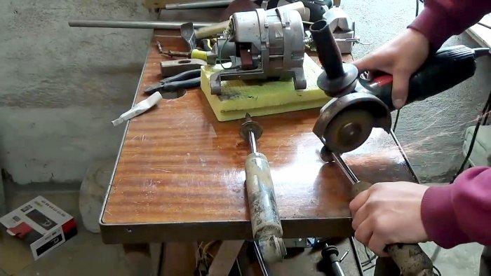 1565239515 4 - Фрезерный станок из двигателя стиральной машинки