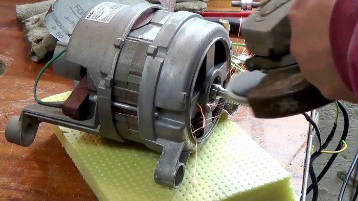 1565239526 2 - Фрезерный станок из двигателя стиральной машинки