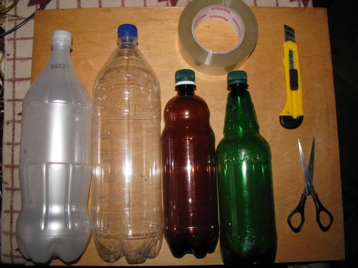 Как сделать абажур для лампы из пластиковой бутылки