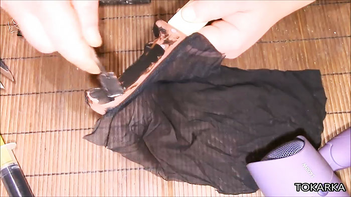 Как сделать прорезиненную рукоятку на ноже