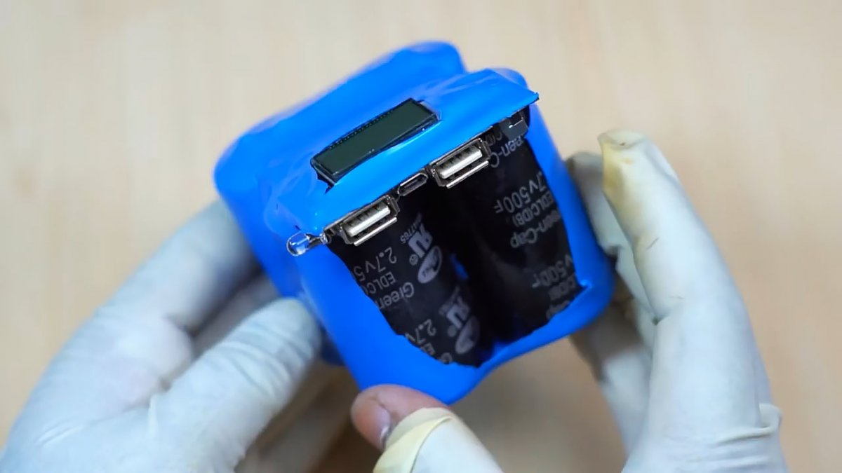 Power bank на суперконденсаторах своими руками